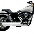 Cobra Speedster Slashdown Full Exhaust for Dyna 12-16