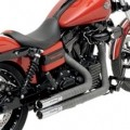 Drag Specialties Python Throwback Exhaust for Dyna 12-16