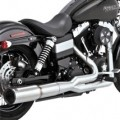 Vance & Hines Stainless Hi-Output 2-Into-1 Full Exhaust System for Dyna 06-14