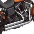 S&S Power Tune Full Exhaust for Dyna 06-16