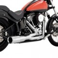 Vance & Hines Hi-Output Short Full Exhaust for FLST 86-16