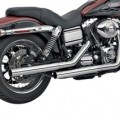 Vance & Hines Straightshots Slip-ons Exhaust for Dyna Glide 91-14