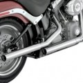 Vance & Hines Straightshots Slip-ons Exhaust for FXSB 13-14