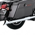 "Vance & Hines 3"" Fishtail Slip-on Mufflers for FLHT 95-14"
