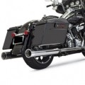 "Bassani 4"" Dnt Straight Can Slip-on Exhausts for FLHT 95-15"