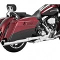 Vance & Hines Power Duals Header Full Exhaust System Chrome for FLTR 10-14