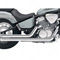 Cobra Streetrod Full Exhaust System (Straightcut) for VT750RS Shadow 10-12