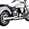 Vance & Hines Pro Pipe Exhaust for XVS1300 V-Star 07-15