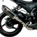 Yoshimura R-77 Slip-On Exhaust for GSX-R1000 12-16