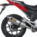 Akrapovic Slip-On Exhaust for NC700X 12-15