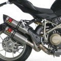 Akrapovic Dual Slip-on Line (Hex) Exhaust for Streetfighter 848 11-14
