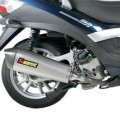 Akrapovic Slip-On Exhaust for Beverly 500 07-13
