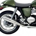 Bassani 4'' Cone-Shaped Slip-On Performance Muffler for Thruxton 04-13