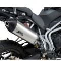 Yoshimura RS-4 Slip-On Muffler for Tiger 800XC 11-13