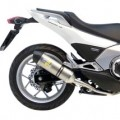 Leo Vince LV One Slip-On Exhaust for NC700/X 13-15