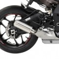 Hotbodies MGP II Growler Slip-On Exhaust for ZX6R 09-12