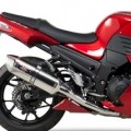 Yoshimura Dual R-77 Slip-On Exhausts for ZX14 08-11