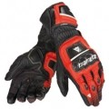 Dainese Druids ST Gloves Black/Red-Lava/White (Closeout)