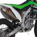Akrapovic Slip-on Exhaust for KX450F 09-14