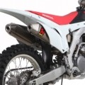 Akrapovic Slip-On Line Mufflers for CRF450R 13-14