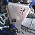 Works Connection Frame Guards for YZ125 00-01
