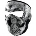 Zan Headgear Full Face Mask Black-&-White-Skull-Face