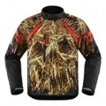 Icon Raiden DKR Splintered Jacket Black/Gold/Red