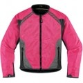 Icon Women's Anthem Mesh Jacket Pink
