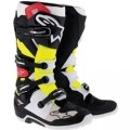 Alpinestars Men's Tech 7 Boots Black/Red/Yellow