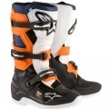 Alpinestars Tech 7S Boots Black/Orange/Blue/White