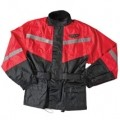 Fly Racing 2-Pc Rain Suit Black/Red
