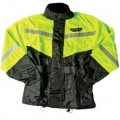 Fly Racing 2-Pc Rain Suit Black/Hi-Viz