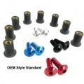 Puig Windscreen Bolt Kit (OEM Style Standard)