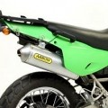 Arrow Enduro Alumilite Silencer for KLR650 01-05