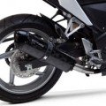Two Brothers M2 Black Slip-On Exhaust for CBR250R 11-14