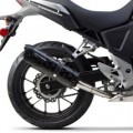 Two Brothers M2 Black Slip-On Exhaust for CB500X 13-15