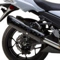 Two Brothers M2 Black Dual Slip-On Exhaust for ZX14R 12-13