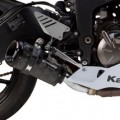 Two Brothers M2 Black Slip-On Exhaust for ZX6R 13