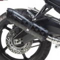 Two Brothers M2 Black Slip-On Exhaust for FZ8 13