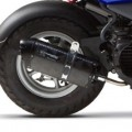 Two Brothers M2 Black Full Exhaust for Zuma 50 12-15