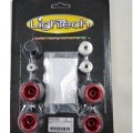 LighTech Axle Sliders w/ Aluminum Inserts for CBR1000RR/ABS 08-13