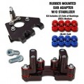 BRP Rubber Mounted SUB Mount DM-Kit for 690 Enduro 11-14