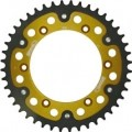 Supersprox Stealth Gold 520 Rear Sprocket for KLX400S 03
