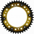 Supersprox Stealth Gold 525 Rear Sprocket for F650GS (8.5mm bolts) 08-13