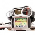 SW Motech Vibration-Damped Quick Release GPS Holder for Speed Triple 1050 11-15