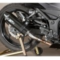 M4 Standard Mount Slip-On Exhaust for Ninja 250 08-12