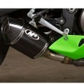 M4 Street Slayer Slip-On Exhaust for ZX6R 13-14