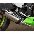 M4 Street Slayer Full Exhaust, Stainless Steel Tubing for ZX6R 13-14