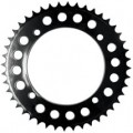 Moose Racing Aluminum Rear Sprocket (Black) for KX65 02-13