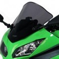 MRA Double-Bubble Racing Screen Windshield for Ninja 300R 13